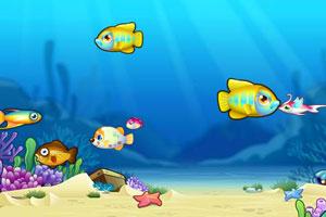 《大魚吃小魚雙人版》游戲畫面1
