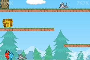 《勇敢的冰火人》游戏画面3