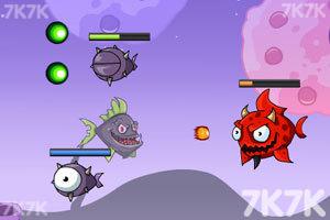 《深海刺头鱼3无敌版》游戏画面1