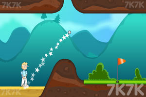 《野外高尔夫》游戏画面2