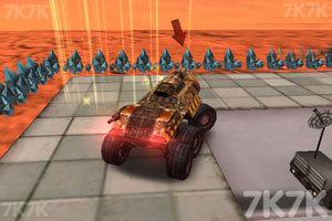 《火星探测车停靠》游戏画面2