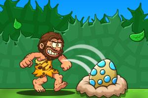 《野人与恐龙蛋》游戏画面3