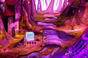 《逃离蘑菇小屋森林》游戏画面1