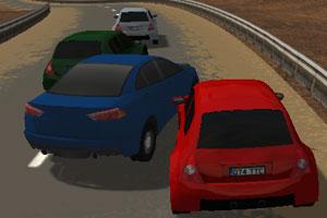 《3D山间公路飚车》游戏画面1