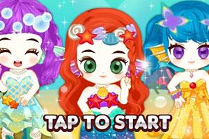 《时尚朱迪之人鱼公主》游戏画面1