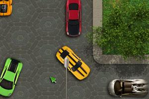 《兰博基尼停车》游戏画面1