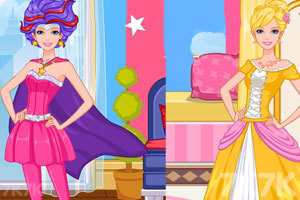 《芭比超人和芭比公主》截图3