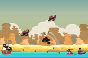 《海盗炮轰强敌》游戏画面1