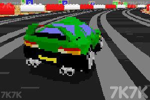 《3D复古赛车》游戏画面3