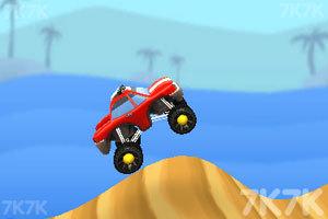 《3D山地爬坡赛》游戏画面3