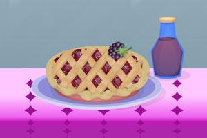 美味的樱桃派