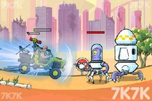 《武装越野车2无敌版》游戏画面3