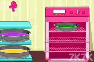 《好吃的彩虹蛋糕》游戏画面4