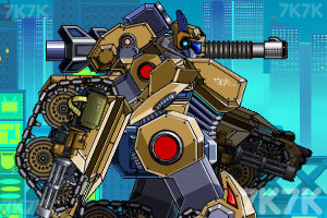 《组装机械坦克战士》游戏画面6