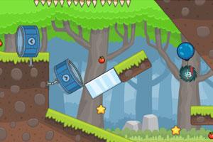 《刺猬果果的苹果乐园2H5版》游戏画面4