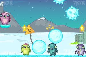 《企鹅战僵尸》游戏画面3