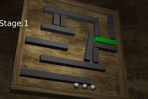 《迷失的铁球》游戏画面1