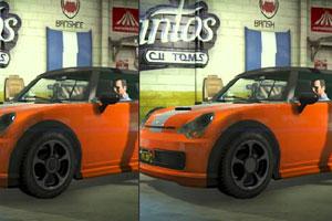 《迷你汽车找不同》游戏画面1