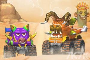 《野兽怪物卡车》游戏画面1