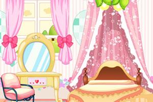 《漂亮卧室装饰》游戏画面1