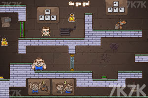 《老爸儿子齐越狱3》游戏画面2