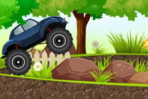 《岩石甲壳虫越野车》游戏画面1