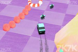 《小车乱闯圣诞》游戏画面3