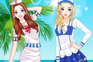 漂亮的水手服饰2