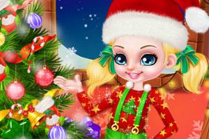 芭比和肯的宝贝过圣诞