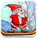 圣诞老人滑板大赛