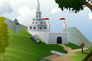 《寻找城堡宝藏逃脱》游戏画面1