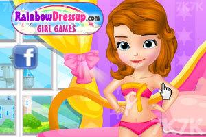 《索菲亚的时尚婚纱》游戏画面3