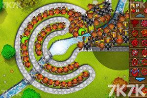 《小猴子守城5中文版》游戏画面5