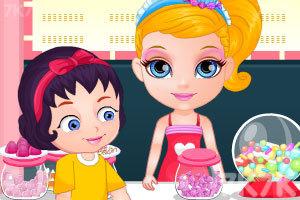 《芭比宝贝糖果店偷懒》截图2