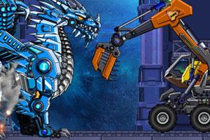 《组装机械挖掘机》游戏画面1