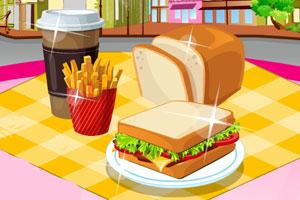 猪肉三明治