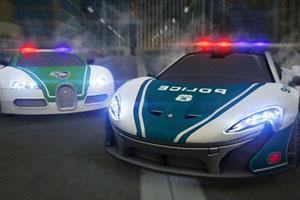 迪拜警车竞速赛
