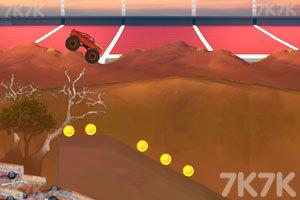 《大脚车难度挑战赛》游戏画面2