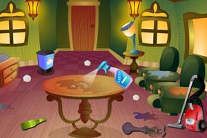 菲奥娜的房间打扫