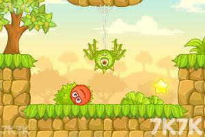 《小红球闯关5无敌版》游戏画面2