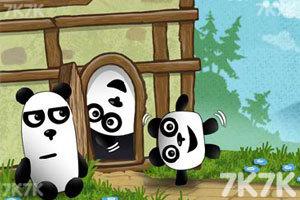 《小熊猫逃生记5选关版》游戏画面2