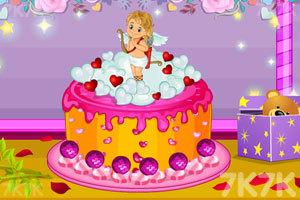 《美味的情人节蛋糕》游戏画面1