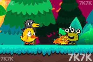 《超级鸡鸭兄弟2无敌版》游戏画面1