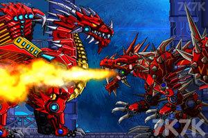 《组装暴力霸王龙》游戏画面1