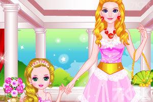 《妈妈和女儿》游戏画面1