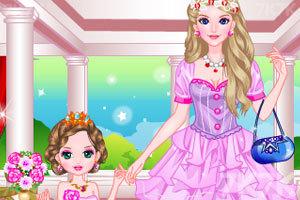 《妈妈和女儿》游戏画面2