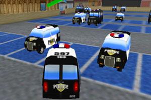 警察局停车大赛