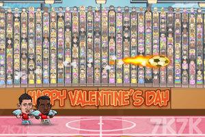 《足球大联盟情人节版无敌版》游戏画面1