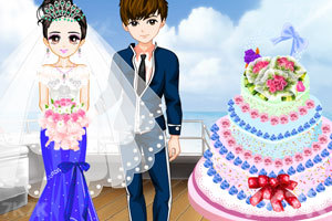 《永恒巴厘岛婚礼装扮》游戏画面3
