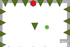 《小绿球的冒险》游戏画面2